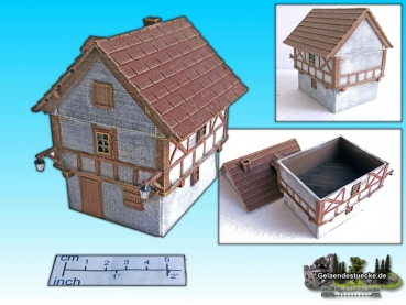 Medieval house (15mm)