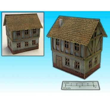half-timbered house II (15mm)