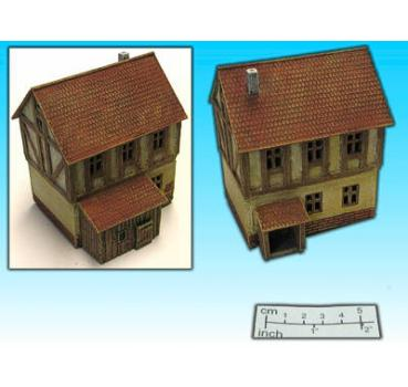 half-timbered house I (15mm)
