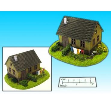 house with garden (15mm)