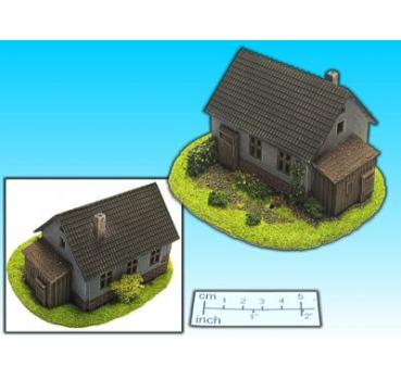house with barn (15mm)