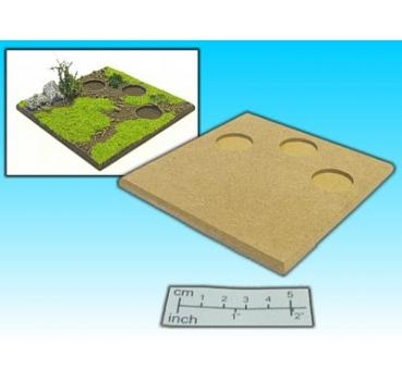 artillery base (3x 25mm round)