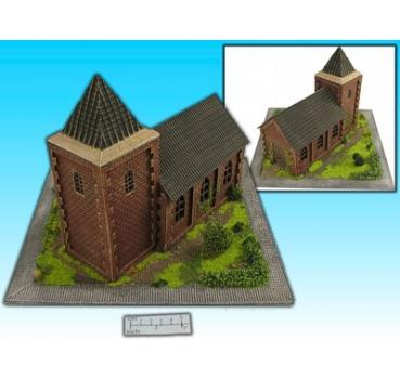 diorama church