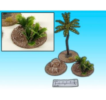 palm and stone set