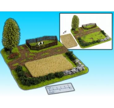 field and field for animals (15mm)