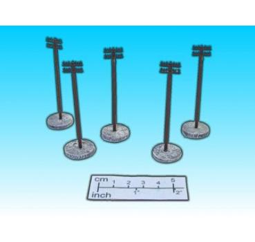 telephon pole (5 pcs. / 15mm)