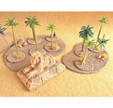 desert base palms (6 parts)