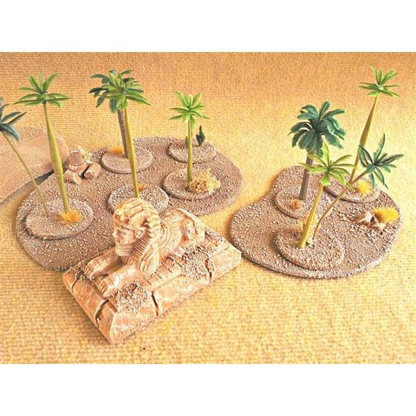 desert base palms (4 parts)